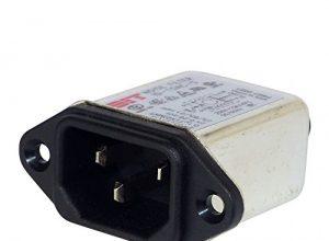 Netzfilter mit Kaltgerätebuchse 250 V/AC 10A Einbau Noisefilter für Netzspannung 1 Stück