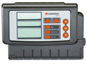 GARDENA Bewässerungssteuerung Classic 6030: Bewässerungscomputer zur automatischen Bewässerung, großes Display, für bis zu 6 Ventile 1284-20