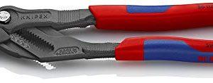 Knipex 86 02 250 Zangenschlüssel grau atramentiert 250 mm
