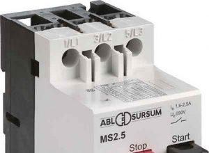 ABL Sursum Motorschutzschalter MS 4