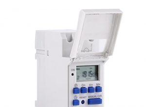 Digitale Wochenzeitschaltuhr Hutschienen-Zeitschaltuhr Digital weekly Timer Switch Electronic Programmable Timer 15AAC/DC12V