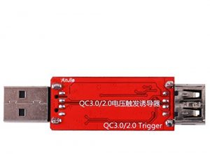 USB Tester QC2.0 / 3.0 Automatische Spannung Strom LCD Tester Quick Charger Power Bank Spannung Trigger