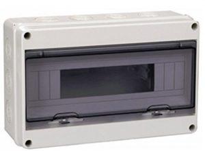 kleinverteiler Sicherungskasten Feuchtraum IP65 Verteilerkasten Unterverteilung MKV-HT 1/18