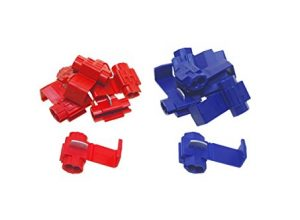 1,5mm² & 5X Blau 1,5mm² – 2,5mm² – baytronic Abzweigverbinder/Schnellverbinder/Stromdiebe/Klemmverbinder 5X Rot 0,5mm²