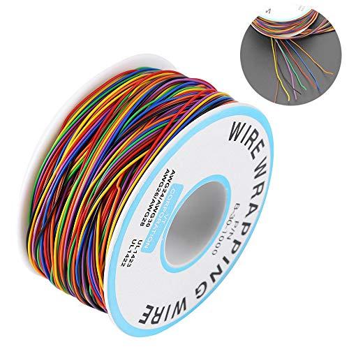 Bunte Isolierungs Test Verzinnte Kupfer Solid Kabel, P/N B-30-1000 Elektronischer 30 Awg Test Kabel,für Laptop Motherboard Elektronischer Test