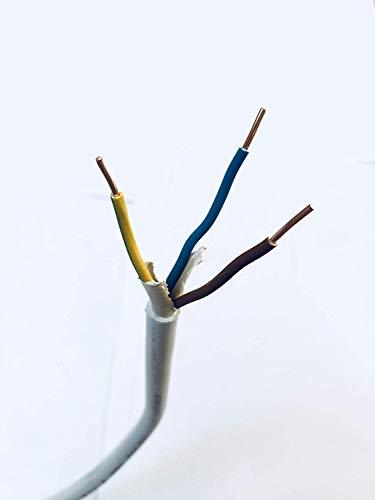 Mantelleitung NYM-J 3 x 2,5 mm² 25m Installationskabel, Elektrokabel