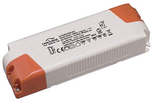 Eaglerise LED Trafo Dimmbar 700mA 36W 20-35W LED Netzteil Driver Treiber Konstantstrom für Lampen Leuchtemittel Transformator
