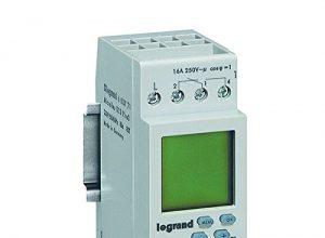 Legrand, digitale Wochen-Zeitschaltuhr MicroRex D22, 2 Kanal, 2-modulig für Hutschiene mit 230V und 4000W, 603781