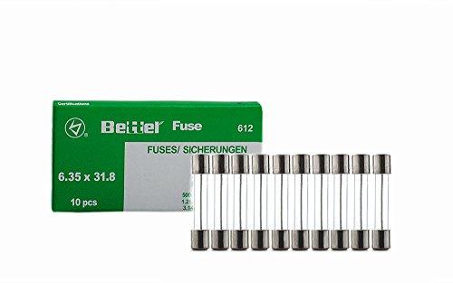 10er Päckchen Sicherungen 8A träge 6,3x32mm