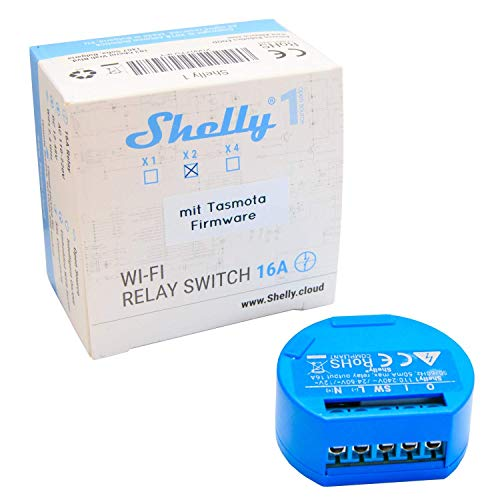 Shelly 1 One mit Tasmota Firmware 2er Pack