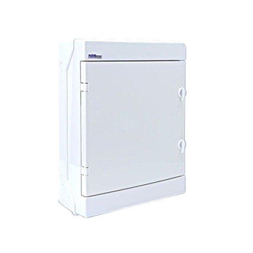 Verteilerkasten RH 24/B AP IP65 Weiß Feuchtraumvert eiler 24 Module Aufputz Sicherungskasten RH24/B 36.23 4286