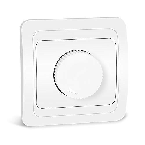 Kefflum LED-Drehdimmer Helligkeitsregler Dimmer für LED Lampen und alle Halogen-Lampen Kurve
