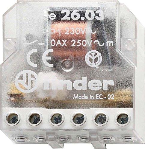 Finder Stromstoßschalter für Dose, 1 Stück, 26.03.8.230.0000