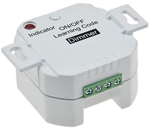 Funk Dimmer für dimmbare Leuchtmittel, LED geeignet, max. 100m Reichweite