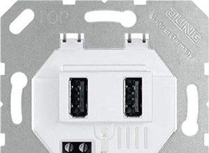 Jung USB-Ladesteckdose USB 3-2 WW USB-Spannungsversorgung 4011377170834