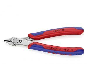 KNIPEX 78 03 125 Electronic Super Knips® mit Mehrkomponenten-Hüllen 125 mm