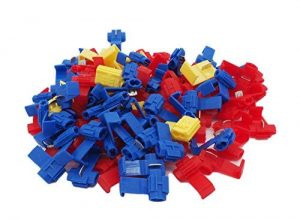 Grapelet Set : 100 Abzweigverbinder 50 x Blau – 40 x Rot – 10 x Gelb