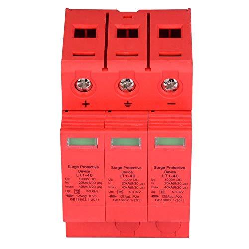 3P 3,0KV DC-Überspannungsschutz-Ableitergerät für Blitzschutz 3p40ka