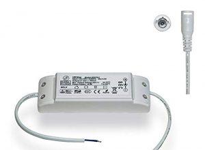 GreenSo GS3078-C 40W LED Netzteil Transformator 100-240V/27-40V 960mA Konstantstrom, Treiber Trafo für 62×62, 120x30cm LED Panel Licht, TÜV CE SAA RoHS