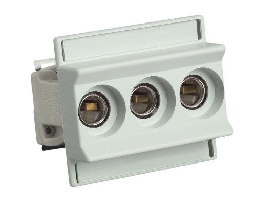 UNITEC 46317L Sicherungssockel D 01, 3-polig, E14, 10-16A