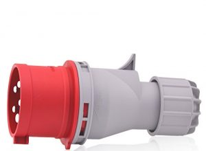CEE Starkstrom Phasenwender Intratec 32A 400V 6h IP44 spritzwassergeschützt 5-polig 3P+N+E: IEC-60309 Phasenwandler ideal für Baustrom & praktisch bei Verwendung von motorbetreibene Maschinen