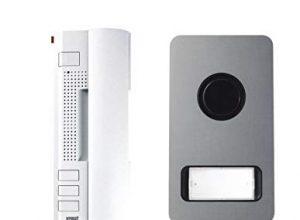 Urmet Sprechanlage Set 1122/31 2-Draht-Set Türsprech-Set, Sprechanlage, Komplettset  klingeln, sprechen, hören, Türe öffnen  Klingelstummschaltung, machen Sie aus Ihrer Klingel mit 2 Drähten eine komplette Sprechanlage