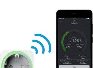 Voltcraft SEM6000SE Energiekosten-Messgerät Bluetooth®-Schnittstelle, Datenexport, Datenloggerfunk