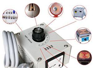 4.000 W AC 220 V Spannungsregler für Temperaturstufen-Motor