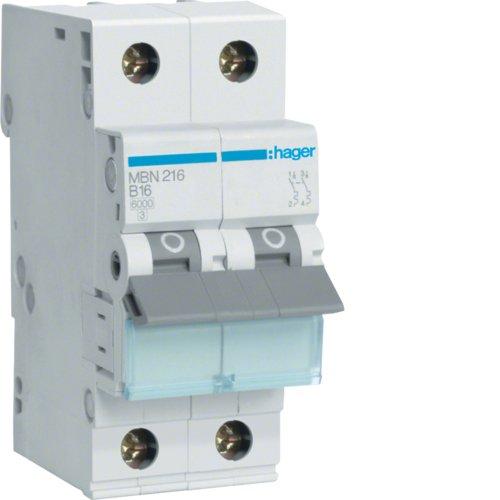 Hager MBN216Schalter Elektro