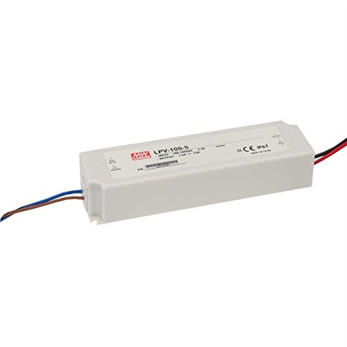 Mean Well LED-Netzteil, 100 W, 24 V, 4,2 A, LPV-100-24, Schaltnetzteil