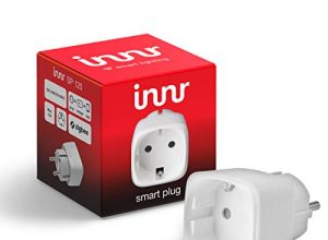 Innr SmartPlug, Philips Hue* & Echo Plus kompatibel, intelligente Funksteckdose, 2300W, SP 120