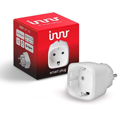 Innr SmartPlug, Philips Hue* & Echo Plus kompatibel, intelligente Funksteckdose, 2300W, SP 120