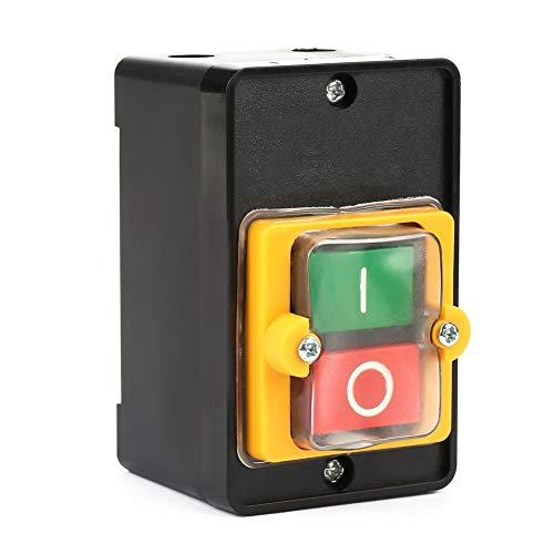 AC220V / 380V 10A Wasserdichter EIN/AUS-Drucktastenschalter Drucktaste Wird in mechanischen Textilmaschinen verwendet