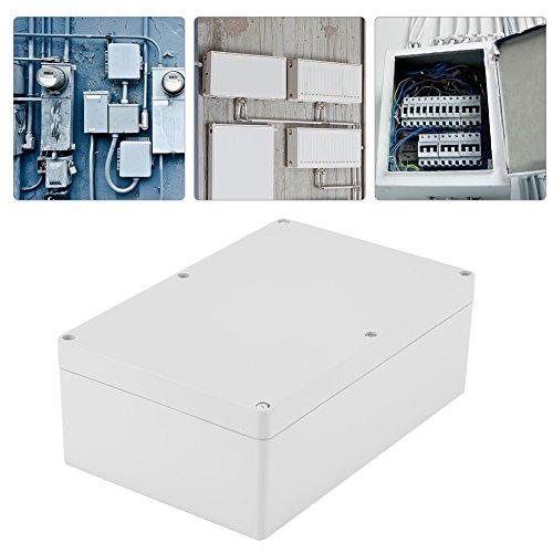 Keenso Elektrische Anschlussdose Outdoor Elektrische Gehäuse Box IP65 Wasserdichte Anschlussdosen Kabelverbinder ABS Kunststoff Projekt Box Gehäuse, 230 * 150 * 85mm