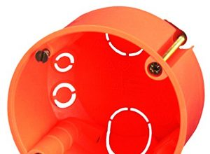 Blass Elektro 22633 Hohlwanddose 35 mm orange, 20er Pack