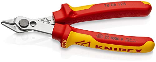 Knipex 78 06 125 VDE 125 mm Electronic Super Knips