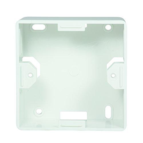 LogiLink Professional NP0221 Aufputzgehäuse Aufputzrahmen für Unterputzdosen, Macht aus Unterputzdosen Eine Aufputzversion