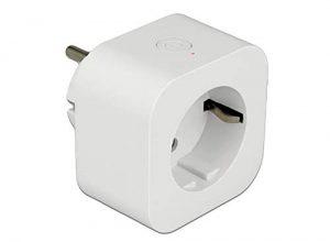 DeLock 11826 WiFi Steckdose Smart Plug, Weiß