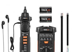 CT03 – Wire Tracker, Tacklife RJ11 / RJ45 Kabelfinder Leitungssucher, Leitungssucher mit NCV-Sonde, für die Sortierung von Ethernet-LAN-Netzwerkkabeln, Telefonkabeltester und Durchgangsprüfung