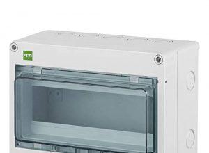 Sicherungskasten Kleinverteiler Feuchtraum Unterverteilung IP65 1reihig f.10 Automaten Außenbereich