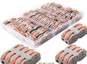 WPERSUVV 42 Verbindungsklemmen, SPL-1 1-Leiter-Klemme mit Betätigungshebel Bilateral Leiter Klemme mit Betätigungshebel Aktualisierte Versionen können frei kombiniert werden SPL2, SPL3, SPL4, SPL5