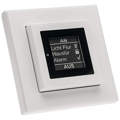 ELV Homematic Komplettbausatz Funk-Statusanzeige mit E-Paper-Display HM-Dis-EP-WM55, für Smart Home/Hausautomation