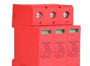 3P 3,0KV DC-Überspannungsschutz-Ableitergerät für Blitzschutz 3p20ka