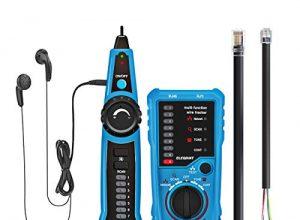 Kabel – ELEGIANT Kabelfinder Kabeltester Leitungssucher Telefon RJ45 RJ11 Finder Draht Verfolger LAN Netzwerk Kabelsucher wire tracker Leitungsdetektor Emitter für Telefonkabel und LAN