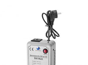 220V auf 110V Spannungswandler Transformator Wandler Umwandler Converter 230V AC 500W