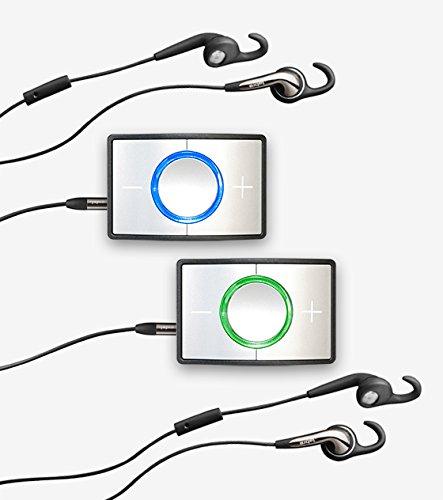 Ceecoach Dual Set Silber – Bluetooth Kommunikation und Gegensprechanlage für Reitsport, Wintersport, Industrie