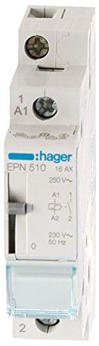 Hager EPN510 Fernschalter 1 Schließer 230V AC 16A 1PLE