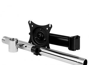 Erweiterungsarm für einen zusätzlichen Monitor, Bildschirmgröße 43-49 Zoll bis 15 kg, Flexible Ausrichtung, Integrierte Kabelführung – ARCTIC Z+1 Pro Gen 3 – Schwarz