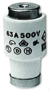 PROTEC.class PSI DIII 63A E33 tr Sicherung 63A E33 tr 5 Stück