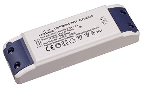 HuaTec Eaglerise LED Trafo Dimmbar 700mA 15W – 24W LED Netzteil Driver Treiber Transformator Konstantstrom für Lampen Leuchtemittel